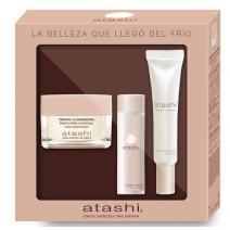 Atashi COFRE Terapia Iluminadora Radiant 50ml + Crema 50ml + Tonico 60ml
