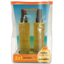 SENSILIS SUN SECRET PACK ACEITE SECO SPF30 2X200ML