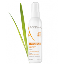 ADERMA PROTECT SPRAY SOLAR SPF 50+ DUCRAY 200 ML + REGALO
