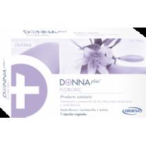 Ordesa Donna Plus+ Flora Íntima Complemento Alimenticio, 14 cápsulas