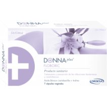 DONNA PLUS + FLOBORIC CAPSULAS VAGINALES 7 CAPS VAGINALES
