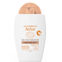 AVENE SOLAR FLUIDO MINERAL SPF 50+ COLOR 40 ML
