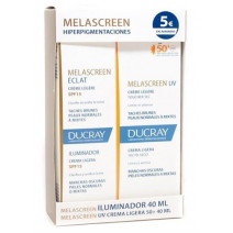 Melascreen Iluminadora 40ml + Crema Ligera 40ml