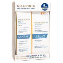 Melascreen Iluminadora 40ml + Crema Ligera 40ml