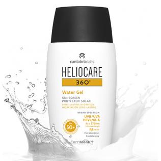 HELIOCARE 360º SPF 50+ WATER GEL HIDRATACION LON 50 ML