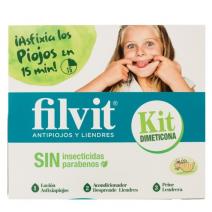Filvit KIT Dimeticona Piojos y Liendres