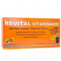 Revital Vitaminado Jalea Real Forte 20 Viales