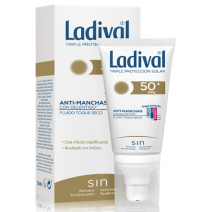 Ladival Accion Antimanchas Toque Secos SPF50 , 50ml