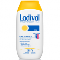 Ladival Piel Sensible Alergica Gel-Crema SPF30 200ml