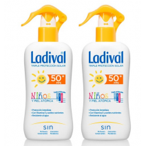 Ladival DUPLO Niños Spray Pistola SPF50+ , 2x200ml