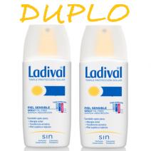 Ladival DUPLO Piel Sensible Spray SPF30, 2x150ml