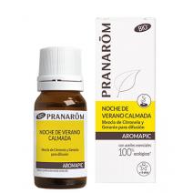 Pranarom Aromapic Antimosquitos Difusor Noche de Verano Tranquila, 10 ml