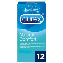 Durex Preservativos natural Plus 12unidades