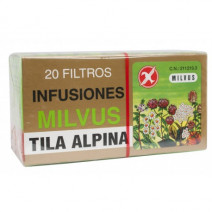 Milvus Tila Alpina con Pétalos de Azahar, 20 filtros
