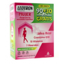 Angelini Leotron Mujer PACK, 90 comp+30 comp