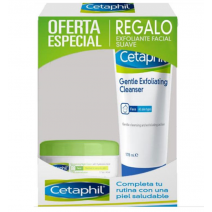Cetaphil PACK Crema Noche 88ml +Exfoliante 178ml