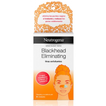 Neutrogena Blackhead Tiras exfoliantes, 6 uds