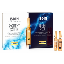 ISDINCEUTICS DAY & NIGHT PIGMENT EXPERT & NIGHT 2 + 2 (4 AMPOLLAS X 2 ML)