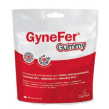 GYNEFER GUMMY FRAMBUESA 30 GOMAS MASTICABLES