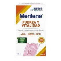 Meritene Active Senior Batidos Sabor Fresa 15sobres