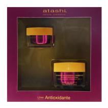 ATASHI CELLULAR ANTIOXIDANT HIDRATANTE + CONTORN COFRE 50 ML + 15 ML