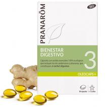 Pranarom Oleocaps 3 Digestión y Tracto Intestinal 30 cápsulas