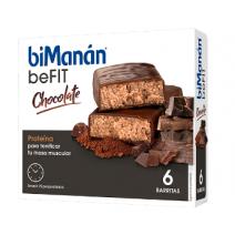 Bimanán Pro barritas Chocolate, 6u