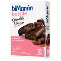 Bimanan Barrita Chocolate Intenso, 40 g 8 unidades