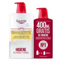 Eucerin PACK Oleogel De Ducha 1000ml + REGALO 400ml