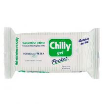 CHILLY POCKET GEL HIGIENE INTIMA TOALLITAS 12 TOALLITAS