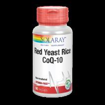 SOLARAY PLUS RED RICE Q10 60CAPS VEG