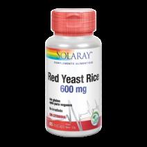 SOLARAY RED YEAST RICE 45 CAPS VEG
