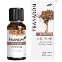 Pranarom Meditación y Olores Sagrados Mezcla para Difusores 30ml