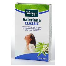 Kneipp Valeriana Original, 60 grageas