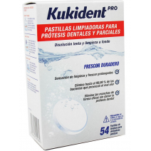 KUKIDENT PASTILLAS LIMPIADORAS 54 PASTILLAS