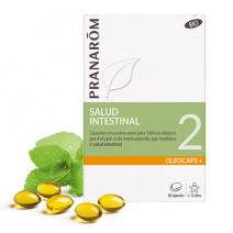 Pranarom Oleocaps 2 Alivio Gastrointestinal y Vias Urinarias 30 cápsulas