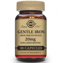 Solgar Hierro Gentle™ (Hierro bisglicinato) - 90 Cápsulas vegetales