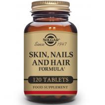 Solgar Formula Pelo, Piel y Uñas, 120 comprimidos