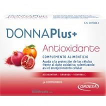 Donna Plus+ Antioxidante Complemento Alimenticio, 30comprimidos