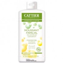 Cattier Gel de Baño Espumoso con Lactoserum, 500ml