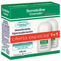 Somatoline Duplo Desodorante Hipersudoración Roll-On, 2 x 30ml