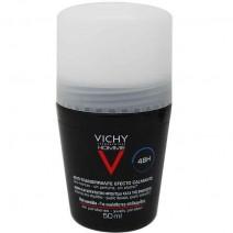 Vichy Desodorante Hombre Antitranspirante Control Extremo 48h , Roll-on 50ml