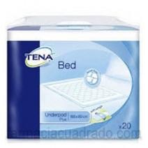 Tena BED Plus Empapador de Cama con Alas 80x180, 20unidades
