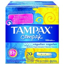 Tampax Compak Regular 20u