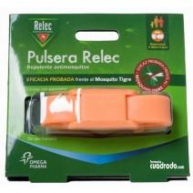 Relec Pulsera Antimosquitos Repelente Color Naranja. 1u