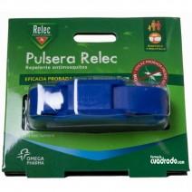 Relec Pulsera Antimosquitos Repelente Color Azul, 1u