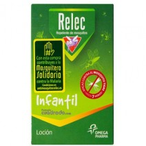 Relec Infantil Loción Repelente de Mosquitos, 125ml