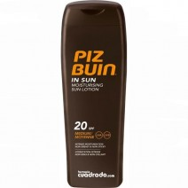 Piz Buin Moisturising SPF20 Loción Solar Hidratante, 200ml