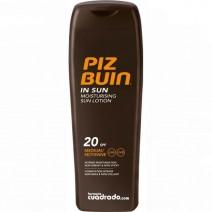 Piz Buin Moisturising Locion SPF20, 200ml