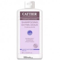 Cattier Champu Extra Suave, 1000 ml